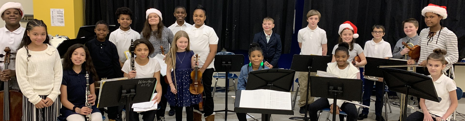 Wilkins STEAM Academy 2019 Winter Band/Orchestra/Chorus Concert