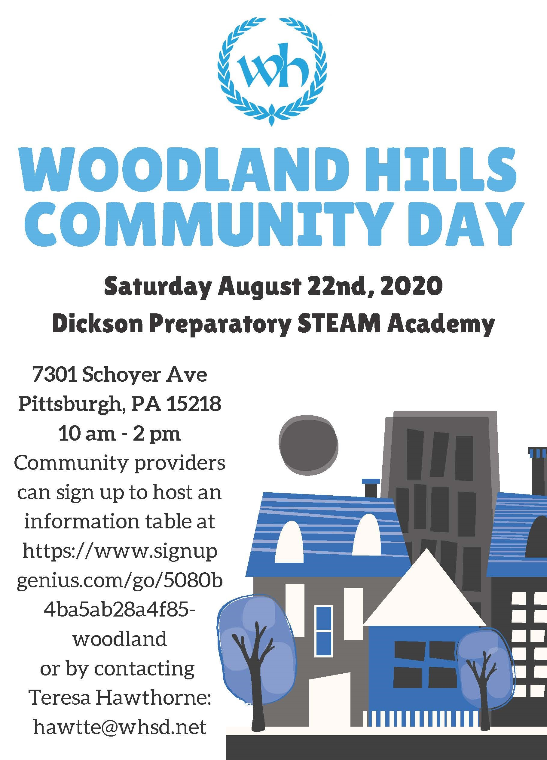 WHSD Back to School Community Day