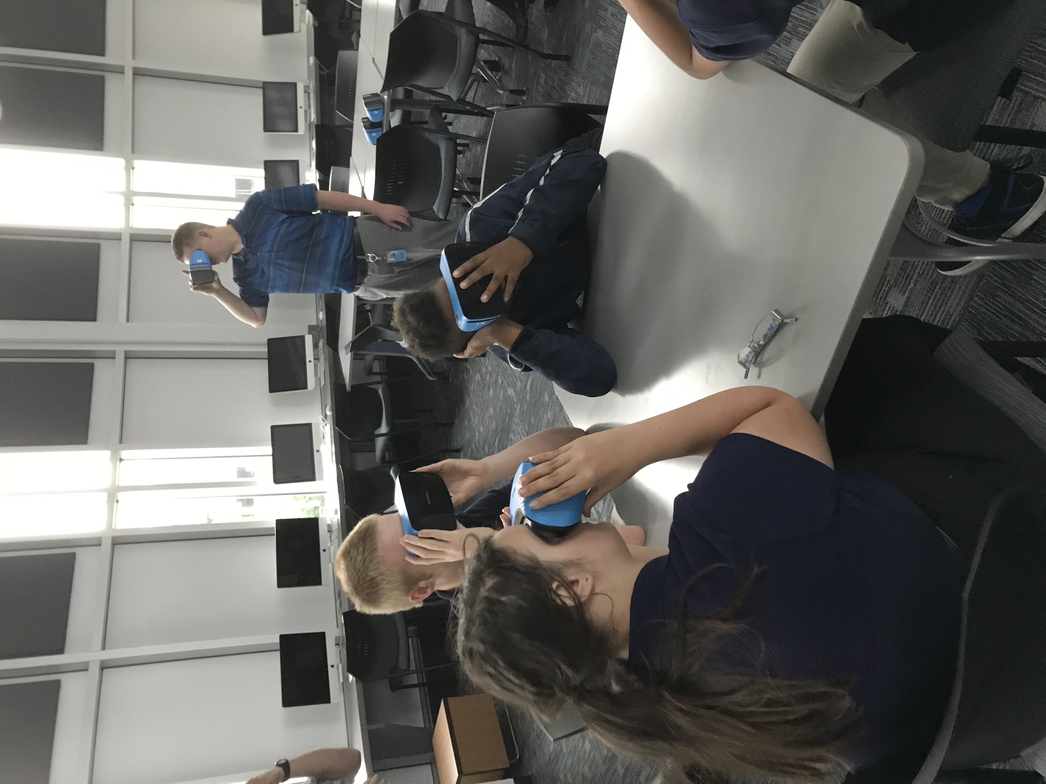 VR Experiences at WHJSHS
